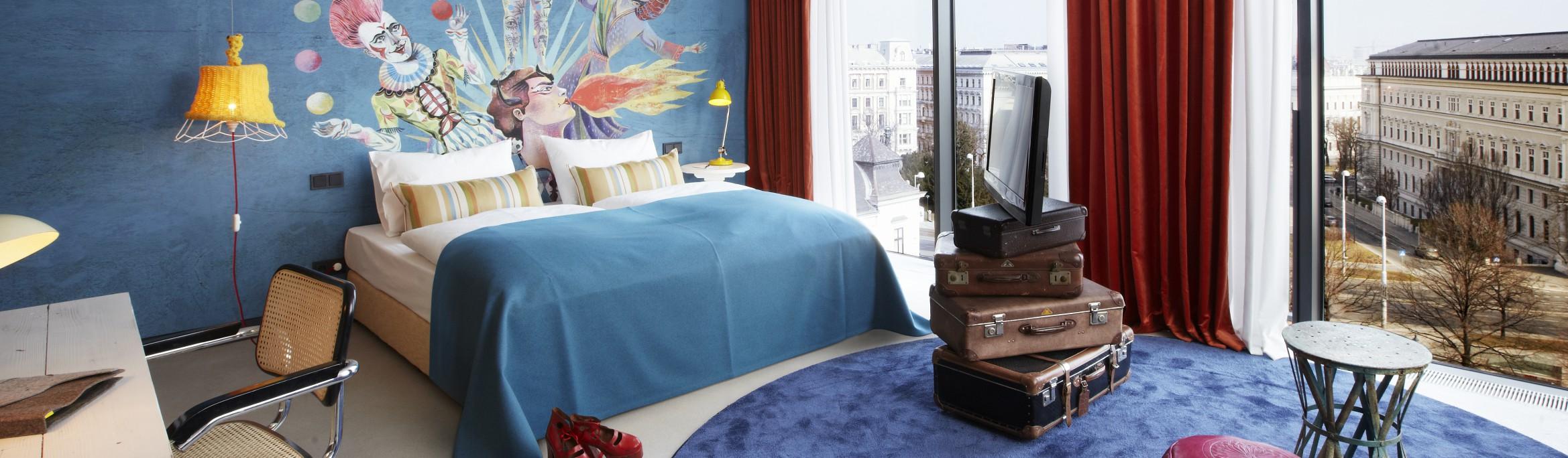 25hours Hotel Wien beim MuseumsQuartier | Jetzt Buchen